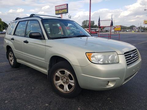 2006 Subaru Forester for sale at Speedy Auto Sales in Indianapolis IN