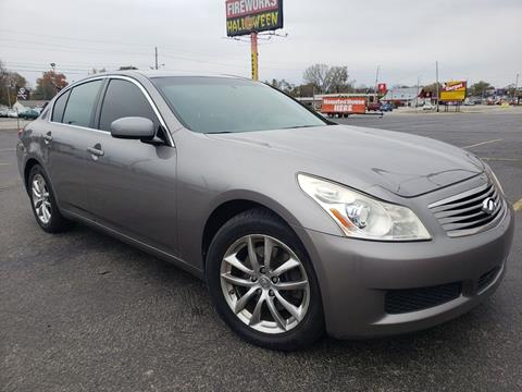 2007 Infiniti G35 for sale at Speedy Auto Sales in Indianapolis IN