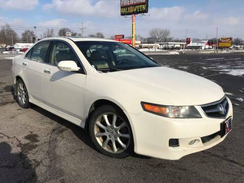 2007 Acura TSX for sale at Speedy Auto Sales in Indianapolis IN