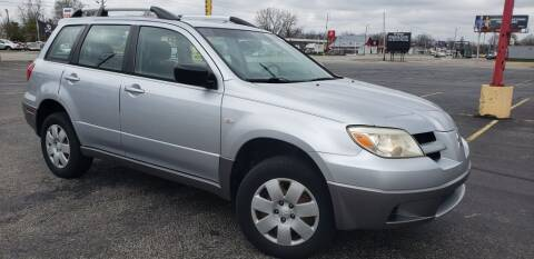 2006 Mitsubishi Outlander for sale at Speedy Auto Sales in Indianapolis IN