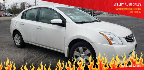 2012 Nissan Sentra for sale at Speedy Auto Sales in Indianapolis IN