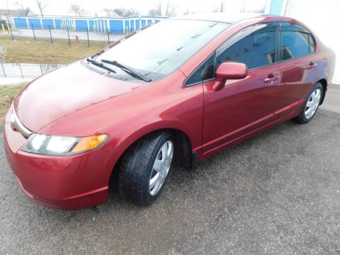 2008 Honda Civic LX for sale at Safeway Auto Sales in Indianapolis IN