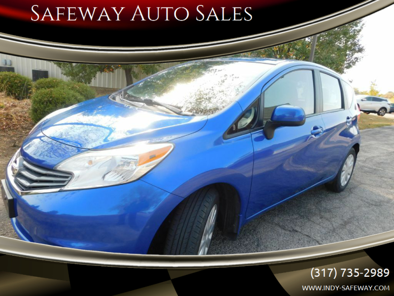2014 Nissan Versa Note for sale at Safeway Auto Sales in Indianapolis IN