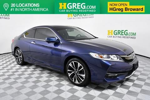 2016 Honda Accord for sale in West Park, FL