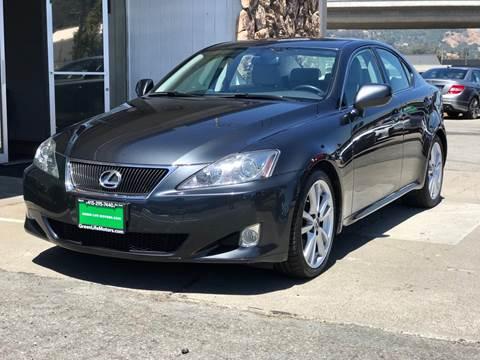 2007 Lexus IS 250 For Sale At Green Life Motors In San Rafael CA