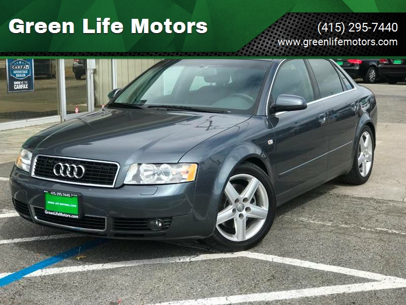 2003 Audi A4 30 In San Rafael Ca Green Life Motors