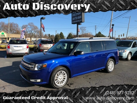 2014 Ford Flex SEL for sale at Auto Discovery in Waterford Twp MI