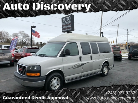 2007 GMC Savana Cargo 1500 for sale at Auto Discovery in Waterford Twp MI