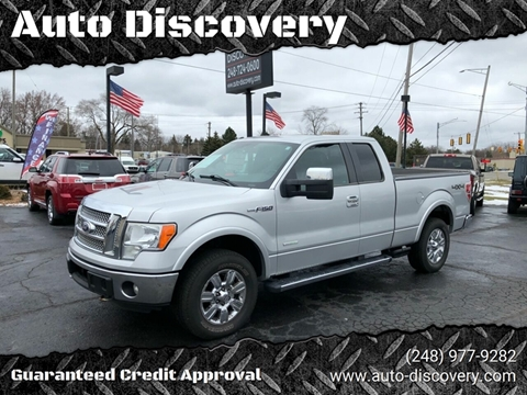 2011 Ford F-150 Lariat for sale at Auto Discovery in Waterford Twp MI