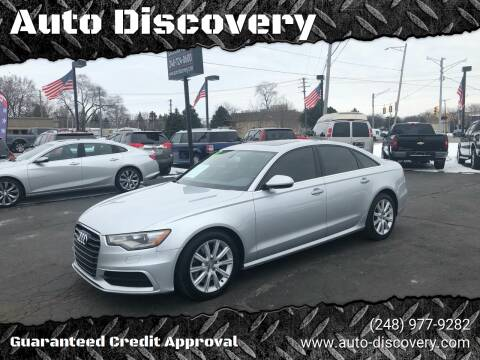 2012 Audi A6 3.0T quattro Prestige for sale at Auto Discovery in Waterford Twp MI