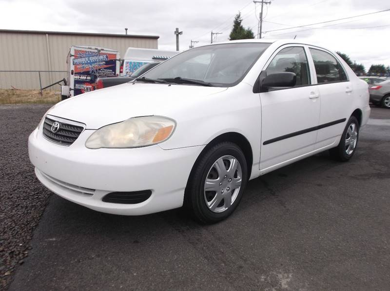 2005 Toyota Corolla For Sale At UNITY AUTO SALES LLC In Brooks OR