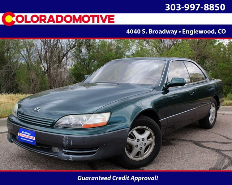 1996 Lexus ES 300 For Sale At Coloradomotive In Englewood CO