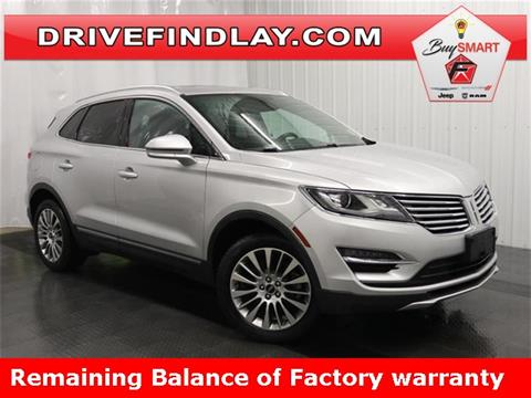 2016 Lincoln MKC for sale in Findlay, OH