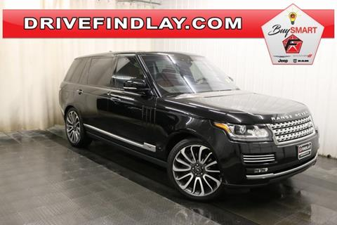 2017 Land Rover Range Rover for sale in Findlay, OH