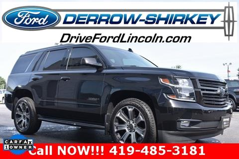 2017 Chevrolet Tahoe for sale in Montpelier, OH