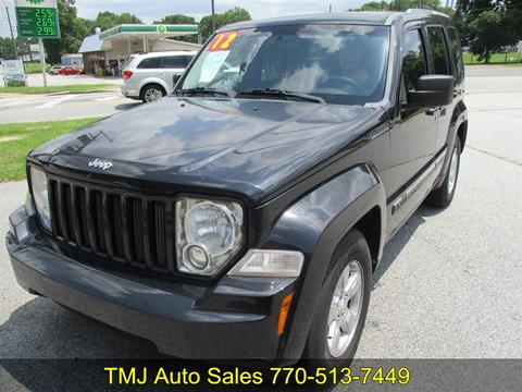 2012 Jeep Liberty for sale in Dacula, GA