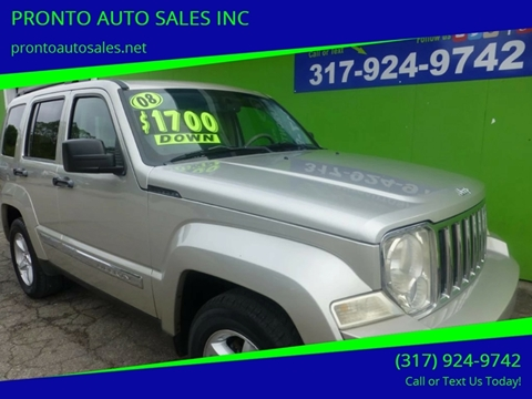 2008 Jeep Liberty for sale in Indianapolis, IN
