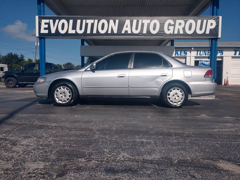 Superb 2001 Honda Accord For Sale At Evolution Auto Group In Winter Haven FL