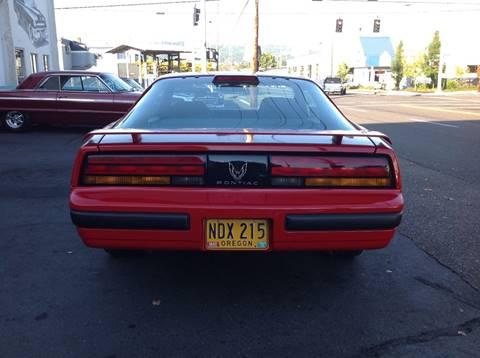 1986 Pontiac Firebird