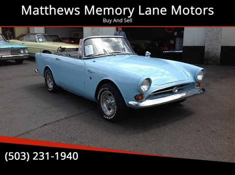 1966 Sunbeam tiger for sale in Portland, OR