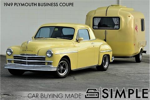 1949 Plymouth Business Coupe for sale in Oak Harbor, WA