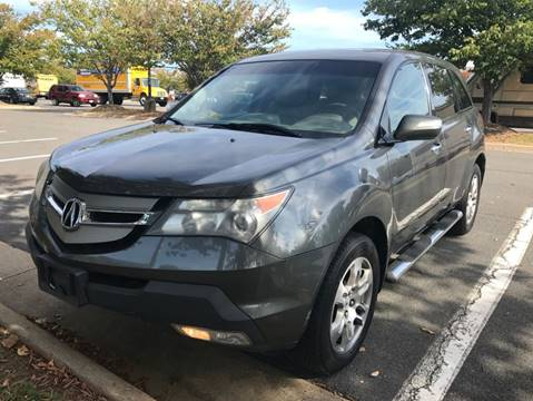 2007 Acura MDX for sale at Capitol Auto Sales Inc in Manassas VA