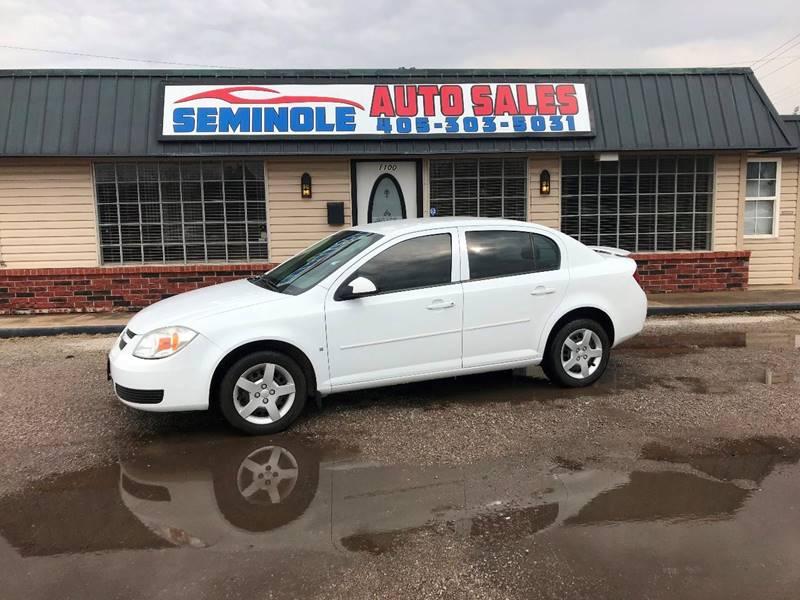 Nice 2007 Chevrolet Cobalt For Sale At Seminole Auto Sales In Seminole OK