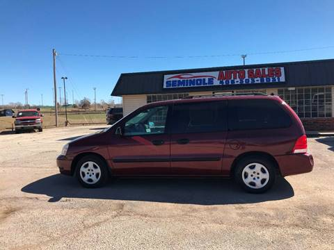 2006 Ford Freestar for sale at Seminole Auto Sales in Seminole OK