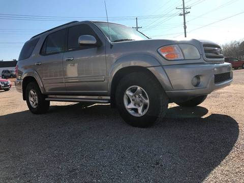2003 Toyota Sequoia for sale at Seminole Auto Sales in Seminole OK