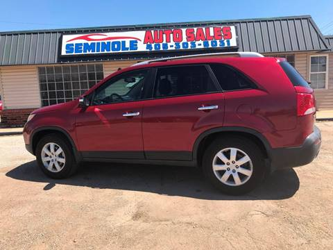 2011 Kia Sorento for sale at Seminole Auto Sales in Seminole OK