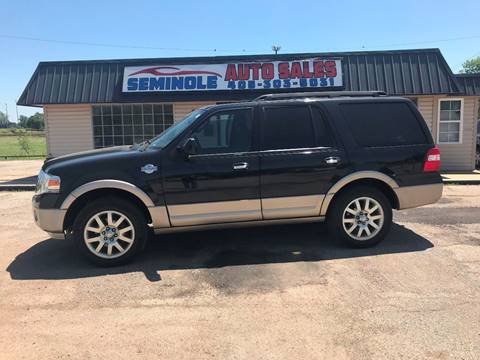 2011 Ford Expedition for sale at Seminole Auto Sales in Seminole OK