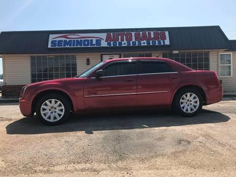 2008 Chrysler 300 for sale at Seminole Auto Sales in Seminole OK