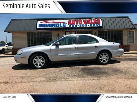 2002 Mercury Sable for sale at Seminole Auto Sales in Seminole OK