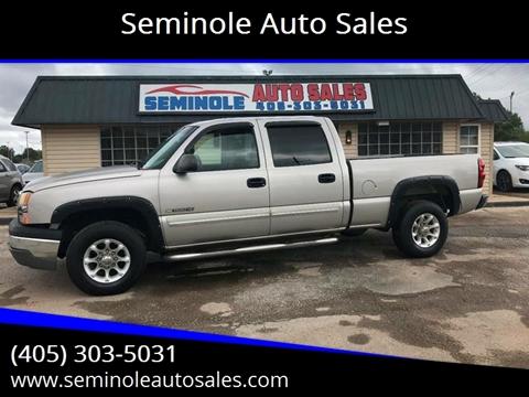 2005 Chevrolet Silverado 1500HD for sale at Seminole Auto Sales in Seminole OK