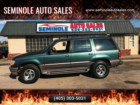 1997 Mercury Mountaineer for sale at Seminole Auto Sales in Seminole OK