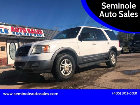 2004 Ford Expedition for sale at Seminole Auto Sales in Seminole OK