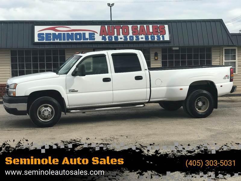2007 Chevrolet Silverado 3500 Classic for sale at Seminole Auto Sales in Seminole OK