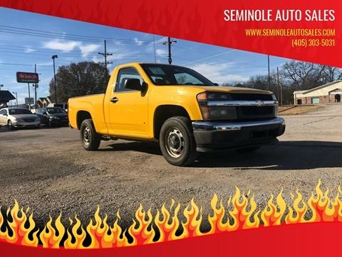 2007 Chevrolet Colorado for sale at Seminole Auto Sales in Seminole OK