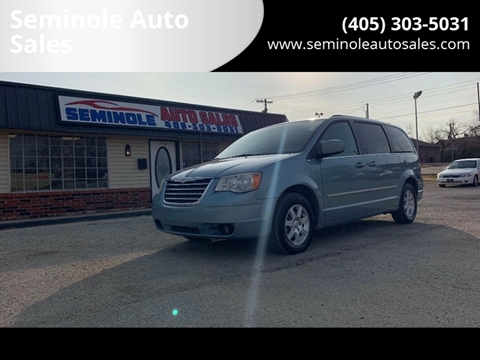 2010 Chrysler Town and Country for sale at Seminole Auto Sales in Seminole OK
