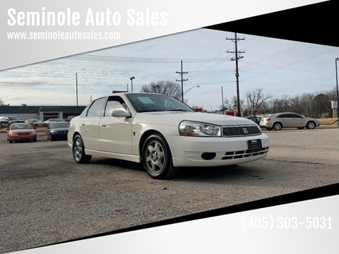2005 Saturn L300 for sale at Seminole Auto Sales in Seminole OK