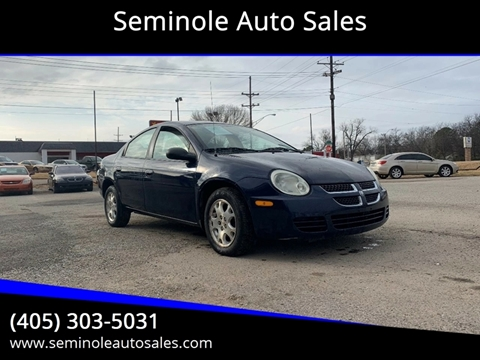 2005 Dodge Neon for sale at Seminole Auto Sales in Seminole OK