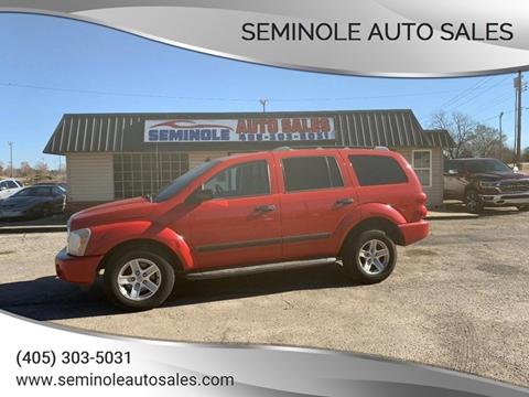 2006 Dodge Durango for sale at Seminole Auto Sales in Seminole OK