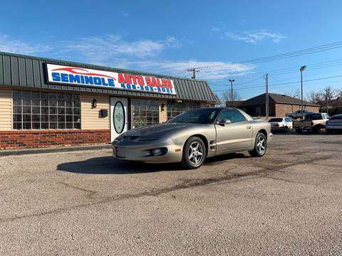 1999 Pontiac Firebird for sale at Seminole Auto Sales in Seminole OK