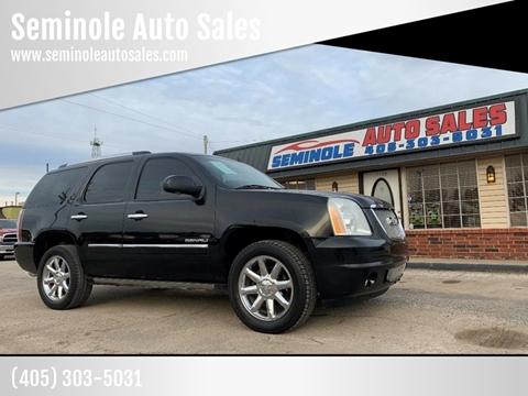 2011 GMC Yukon for sale at Seminole Auto Sales in Seminole OK