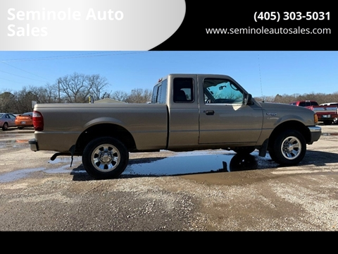 2003 Ford Ranger for sale at Seminole Auto Sales in Seminole OK