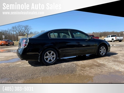 2005 Nissan Altima for sale at Seminole Auto Sales in Seminole OK
