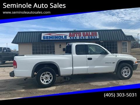 2002 Dodge Dakota for sale at Seminole Auto Sales in Seminole OK