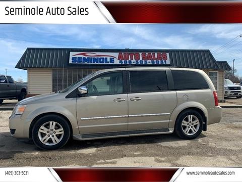 2008 Dodge Grand Caravan for sale at Seminole Auto Sales in Seminole OK