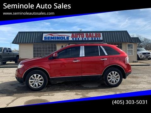 2010 Ford Edge for sale at Seminole Auto Sales in Seminole OK