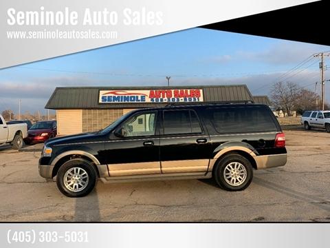2012 Ford Expedition EL for sale at Seminole Auto Sales in Seminole OK